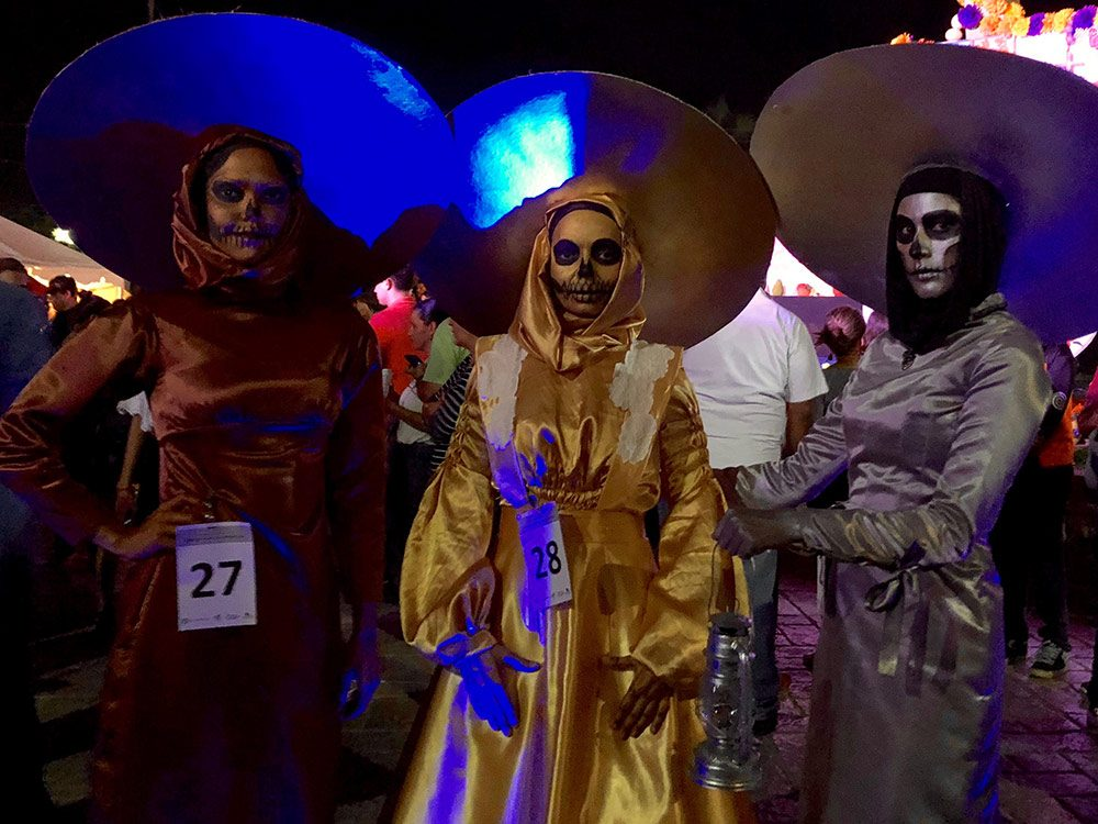 The Day of the Dead celebrations in La Paz, Mexico
