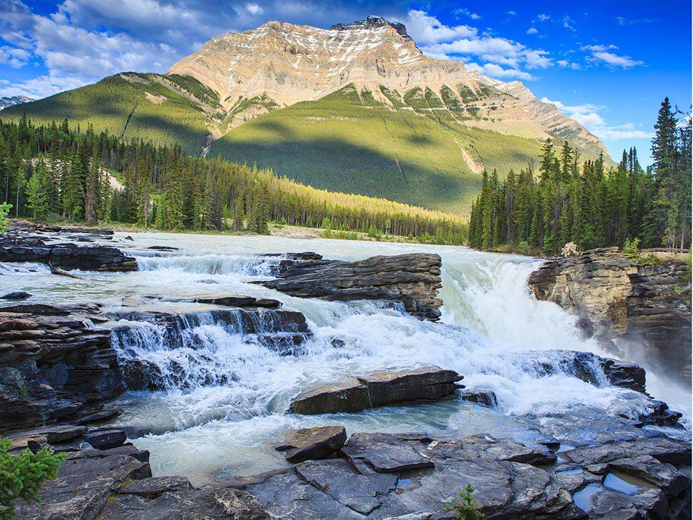 Waterfalls in Canada - Athabasca Falls