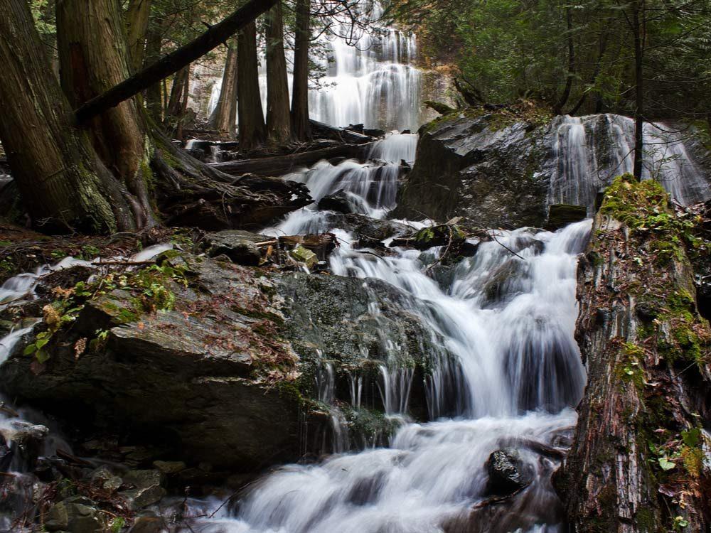 Waterfalls in Canada - Bridal Veil Falls