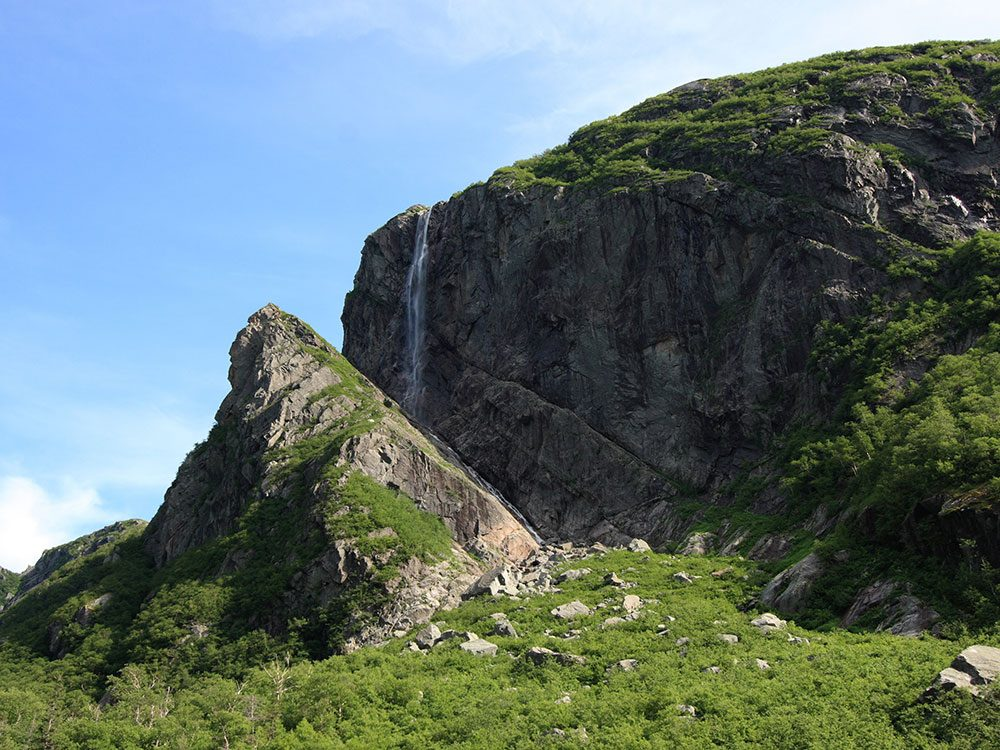 Waterfalls in Canada - Pissing Mare Falls, Gros Morne