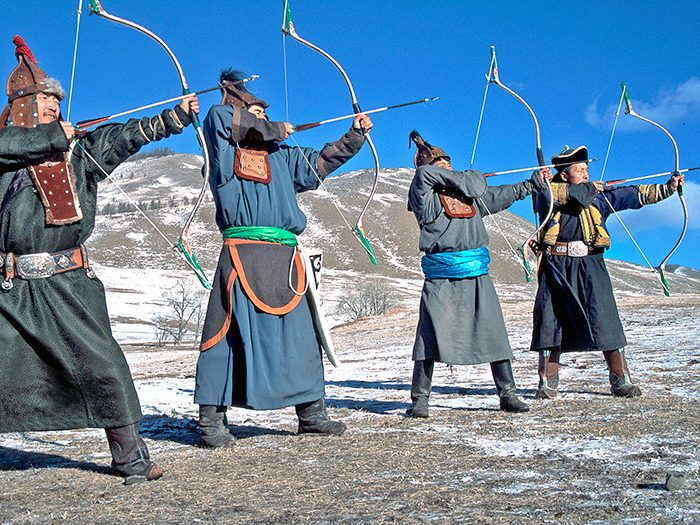 Archery in Mongolia