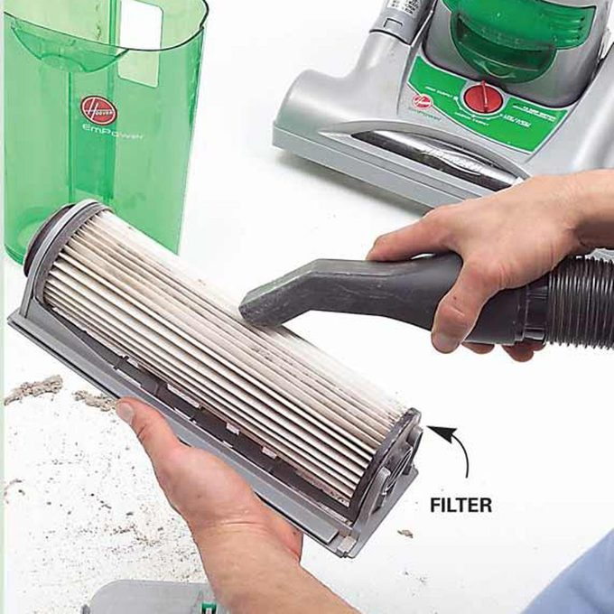 vacuuming mistake