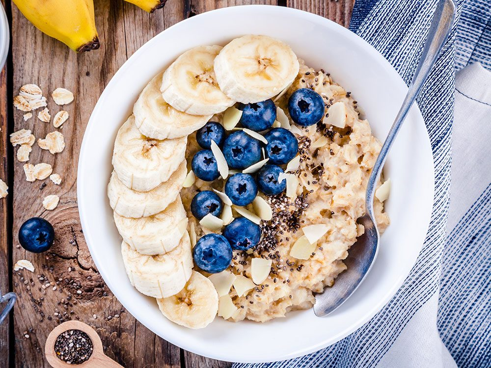 Best foods to lower cholesterol - oatmeal