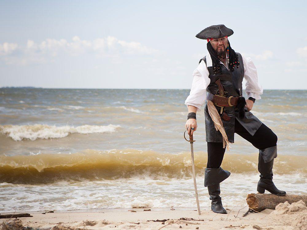 Birthday jokes - pirate