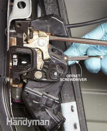 How to fix power door locks - step 1