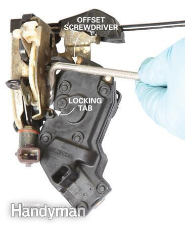 How to fix power door locks - step 2