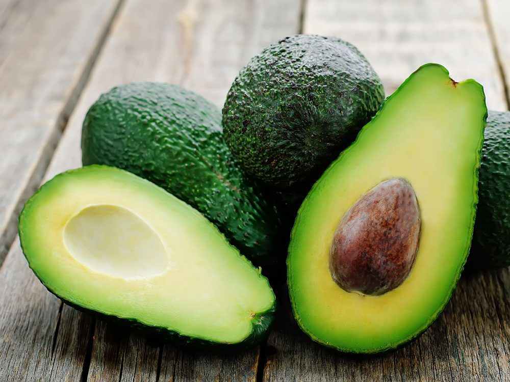 Foods to lower cholesterol - avocado