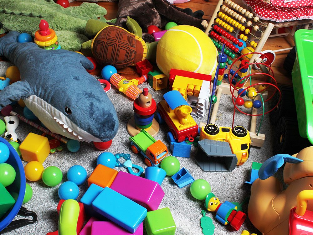 Health risks for pets - toys
