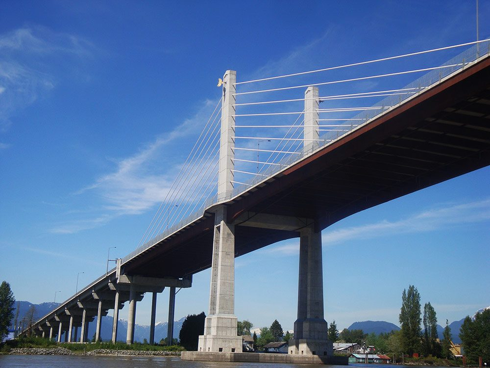 Golden Ears Bridge in British Columbia