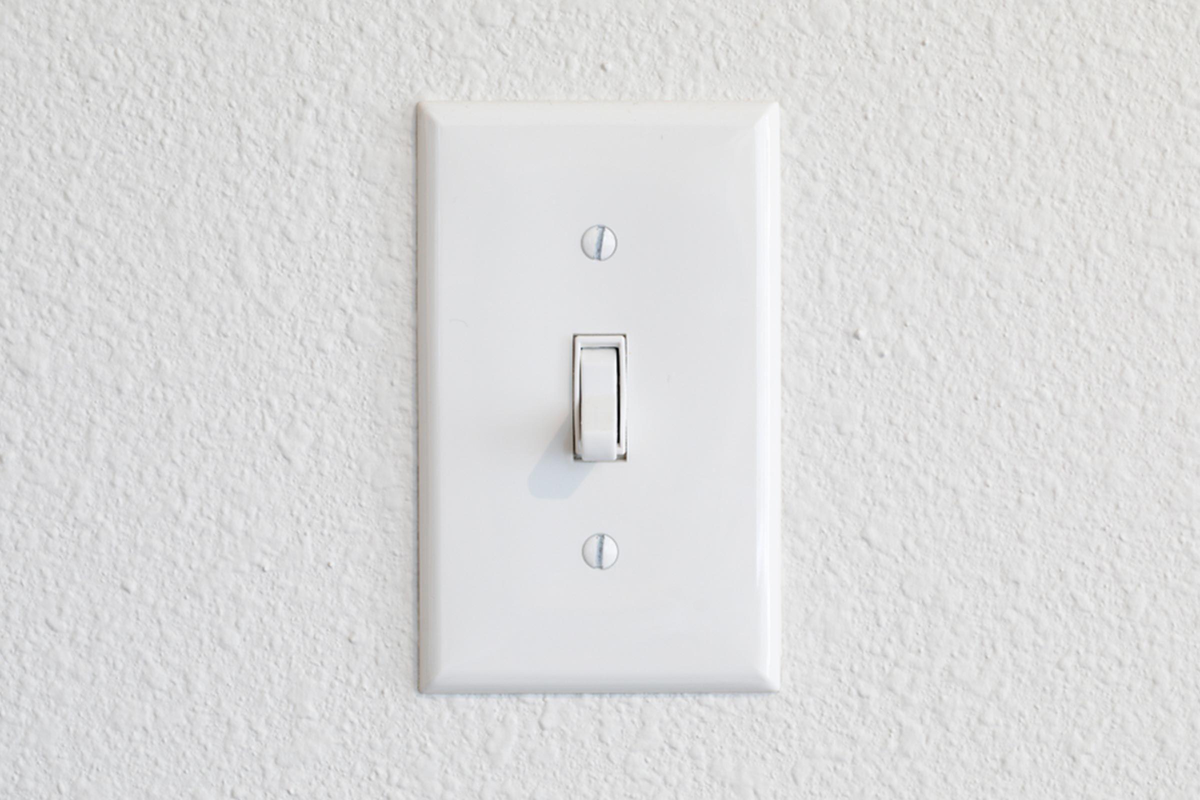 light switch wall
