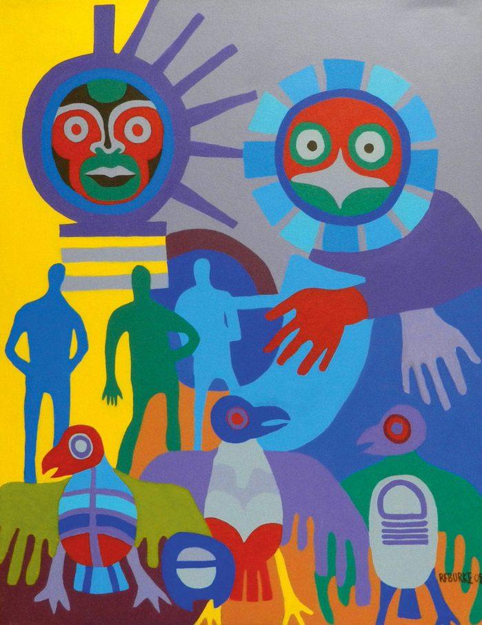 """Friendly Observation"" by Robert Burke"