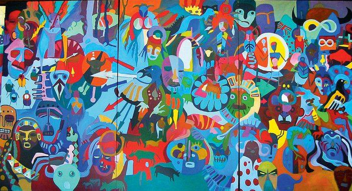 """""""Aboriginal Immersion"""" by Robert Burke"""