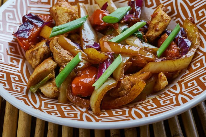 Chicken and Chinese Vegetable Stir-Fry, Chinese-style Kung Pao Chicken