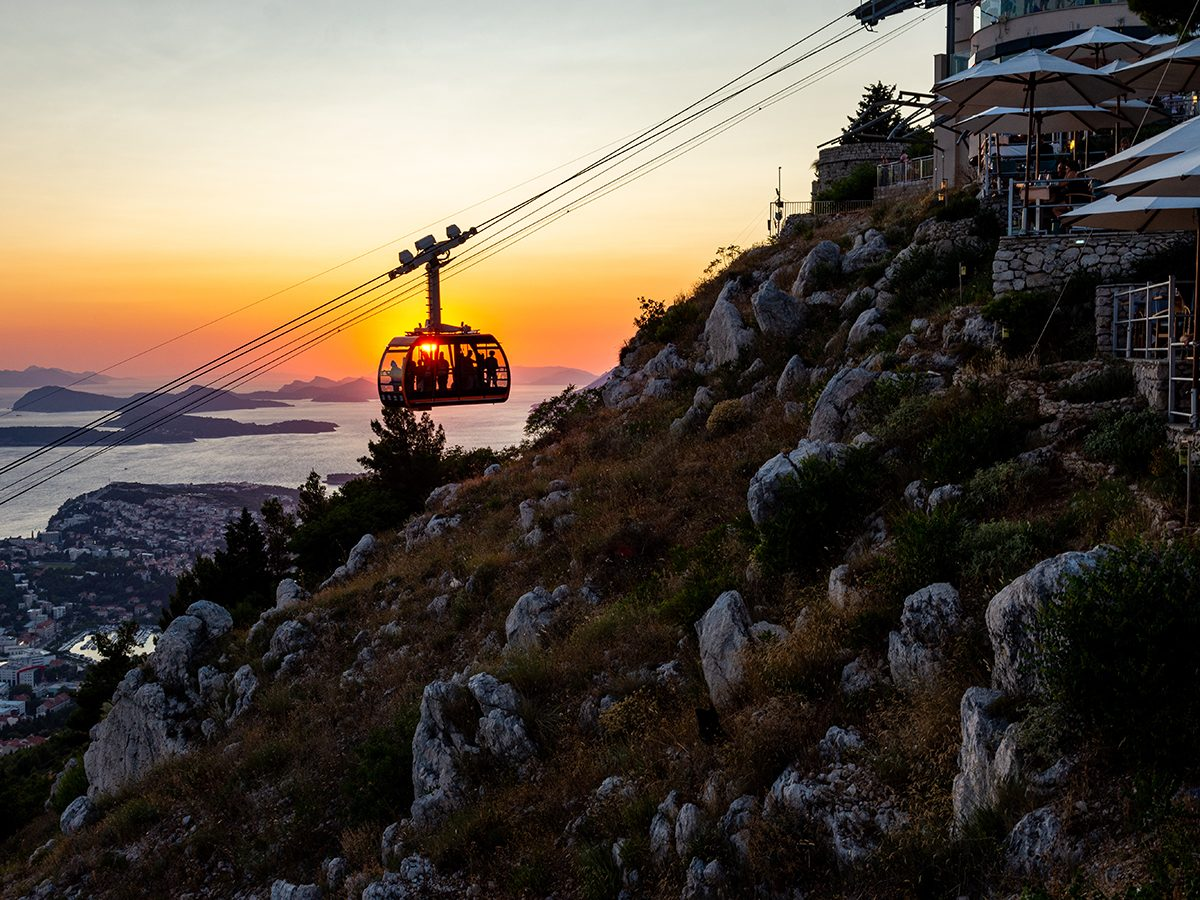 Things to do in Dubrovnik - Srd cable car