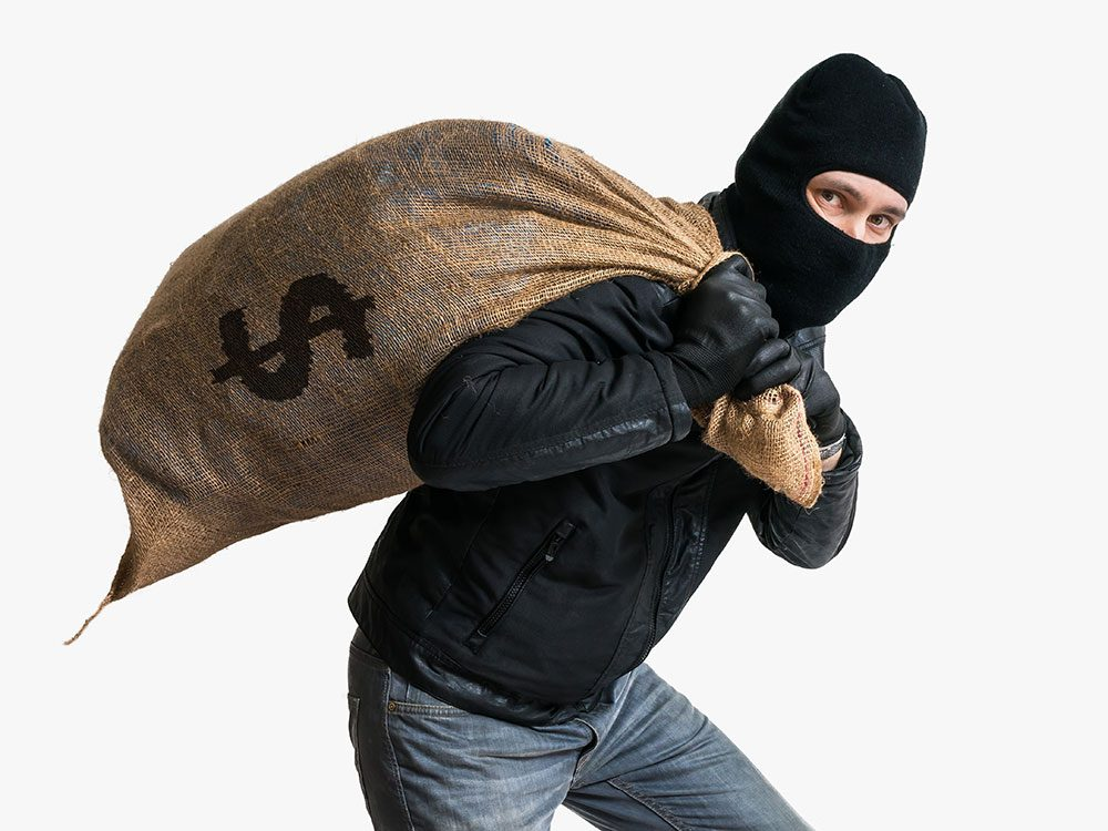 World's dumbest criminals - bank robber