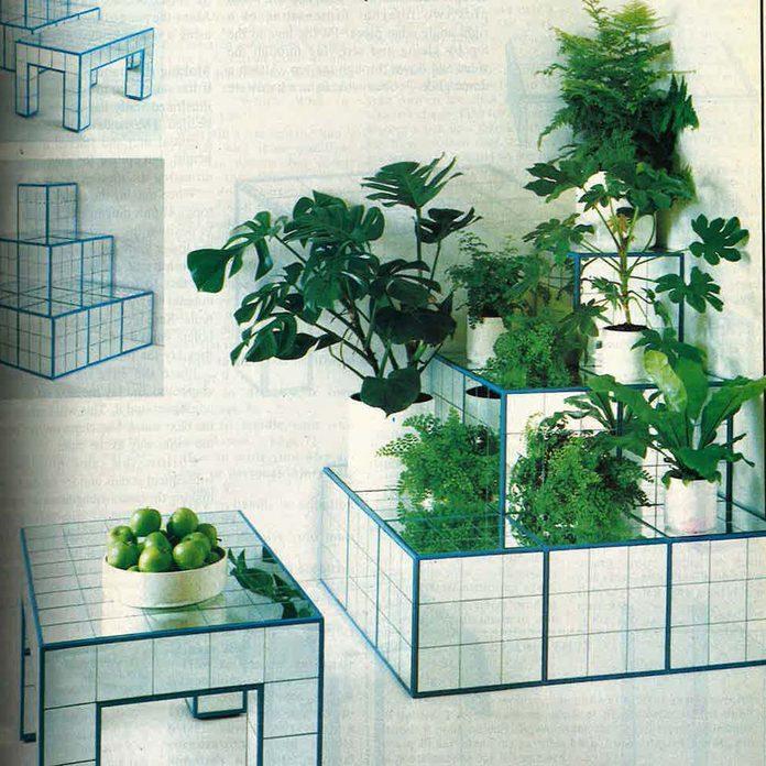 Tile furniture