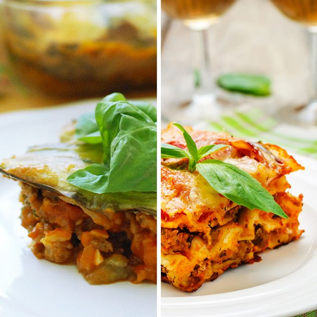 Eggplant for Lasagna Noodles