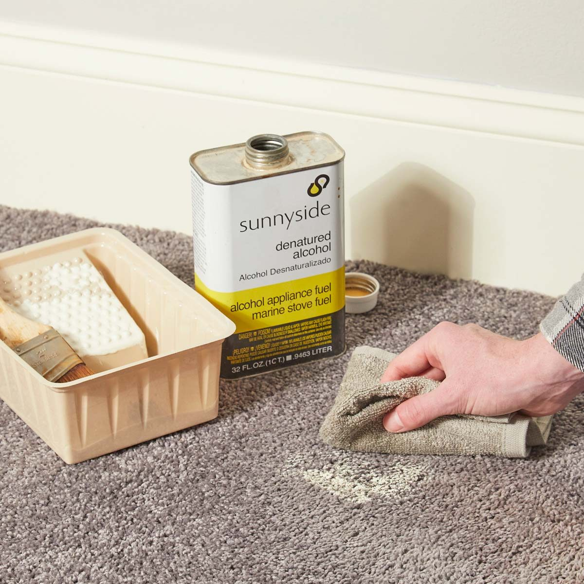 Spring cleaning tips - Painted Carpet