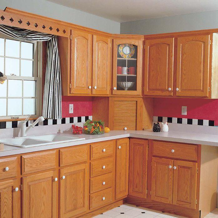 Light oak kitchen