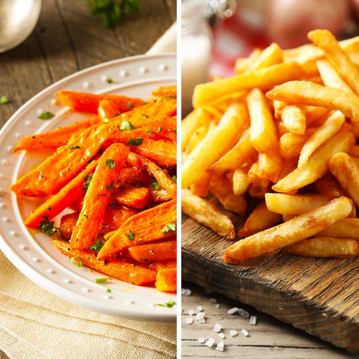 Carrot Fries for French Fries