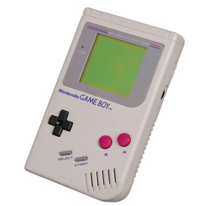 vintage GameBoy