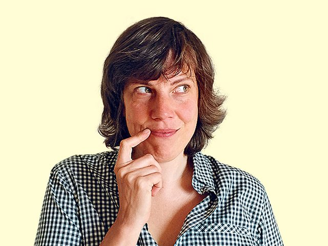 Canadian comedian Carolyn Taylor