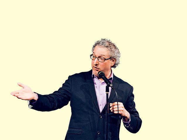 Canadian comedian David Acer