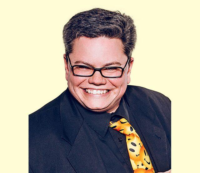 Canadian comedian Jenny Hamilton