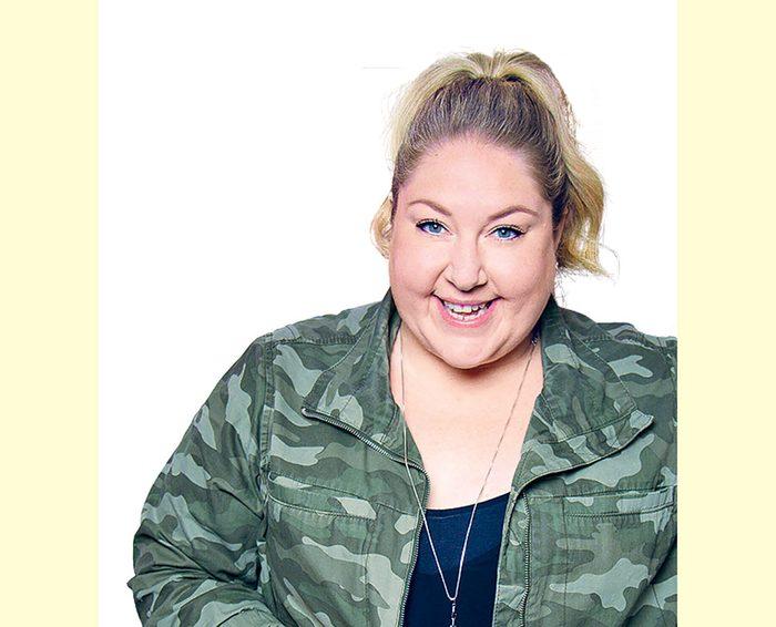 Canadian comedian Kate Barron