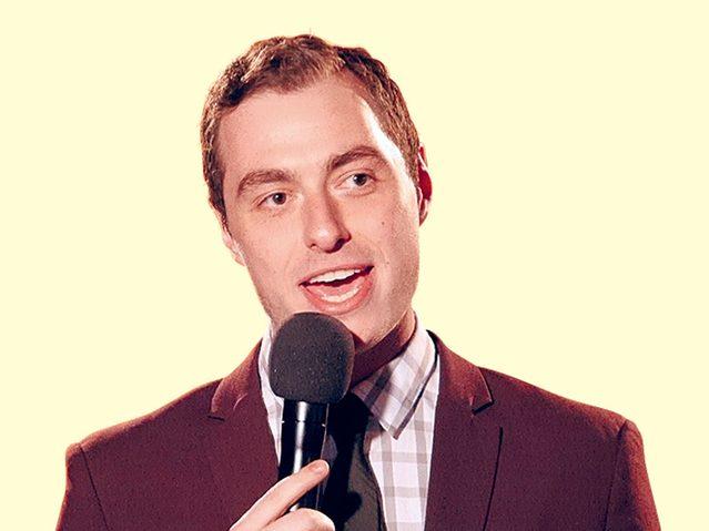 Canadian comedian Matt Wright