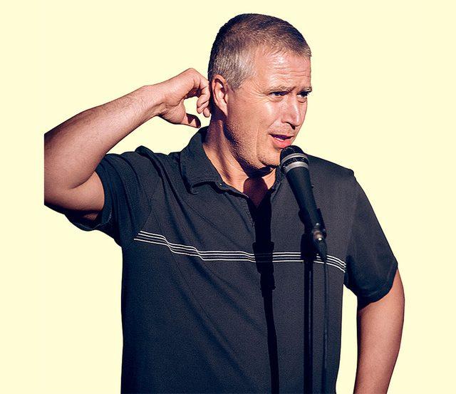 Canadian comedian Todd Graham