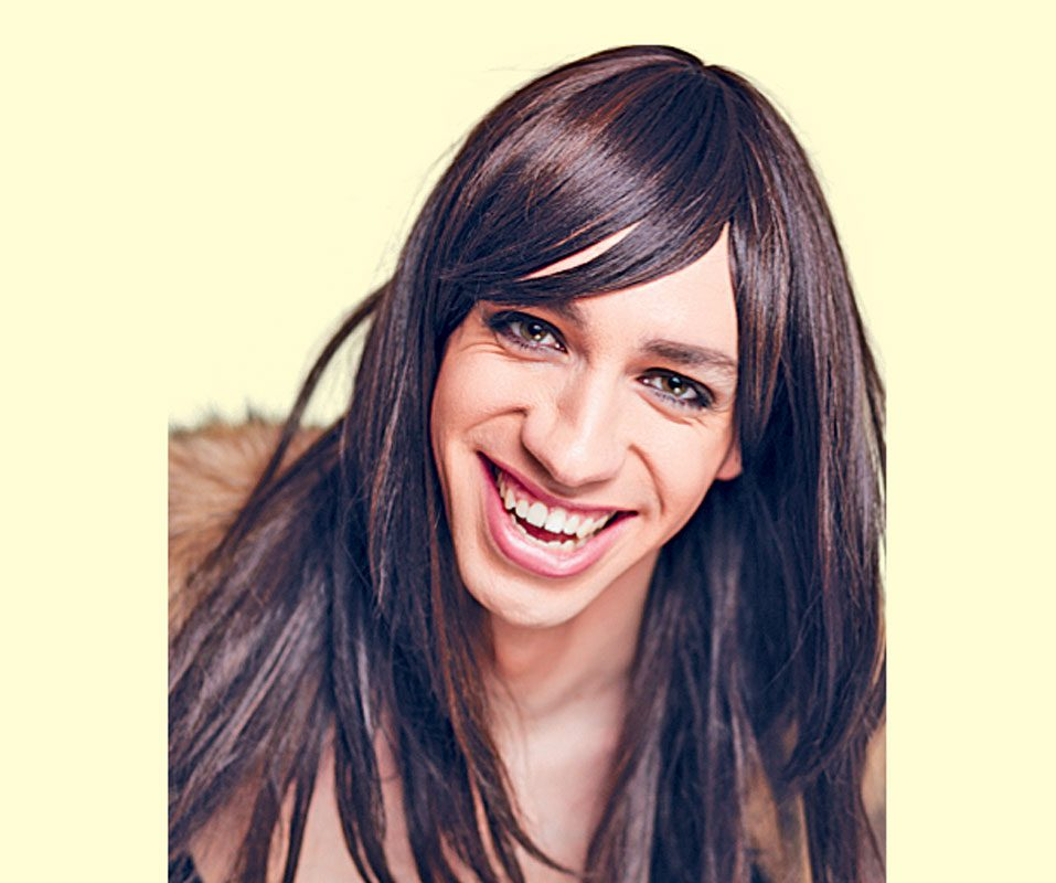 Canadian comedian Tranna Wintour