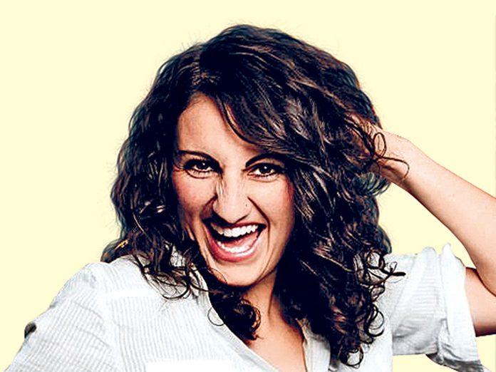 Canadian comedian Stephanie Tolev