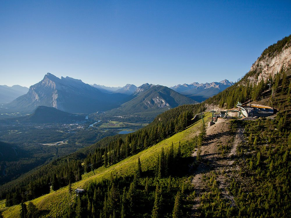 Day trips from Calgary - Mount Norquay