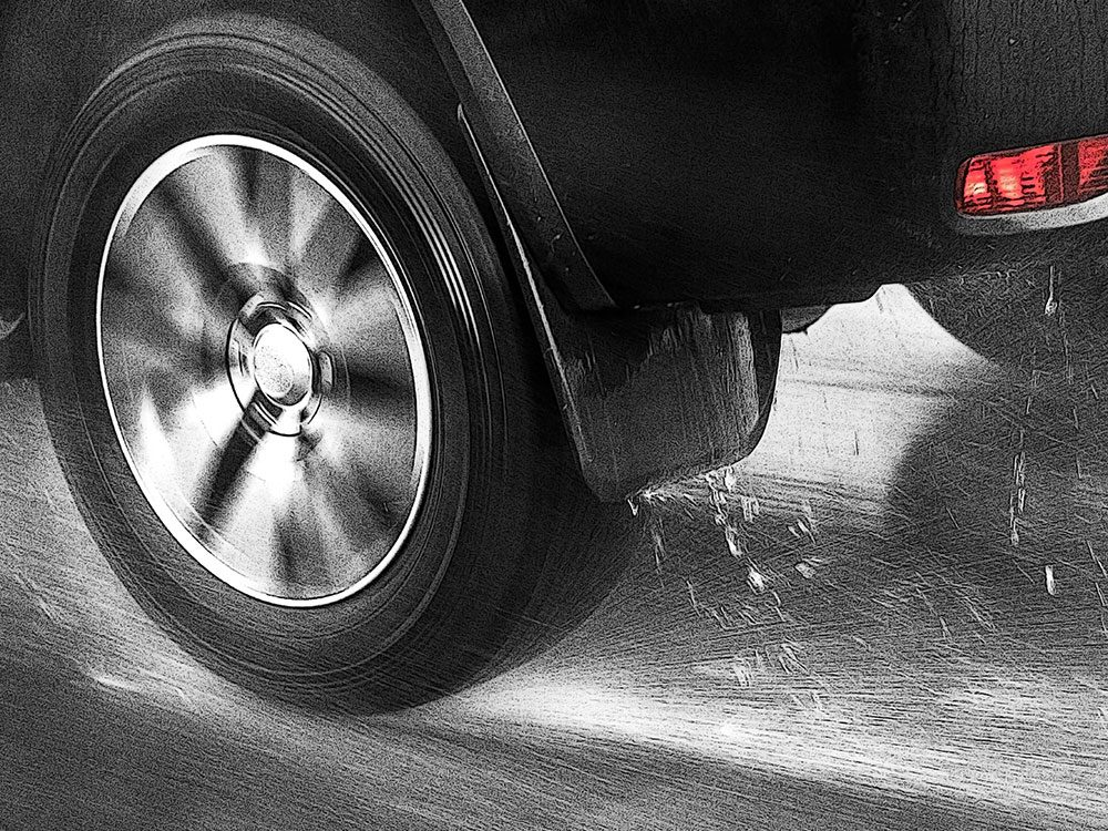 Driving tips - hydroplaning