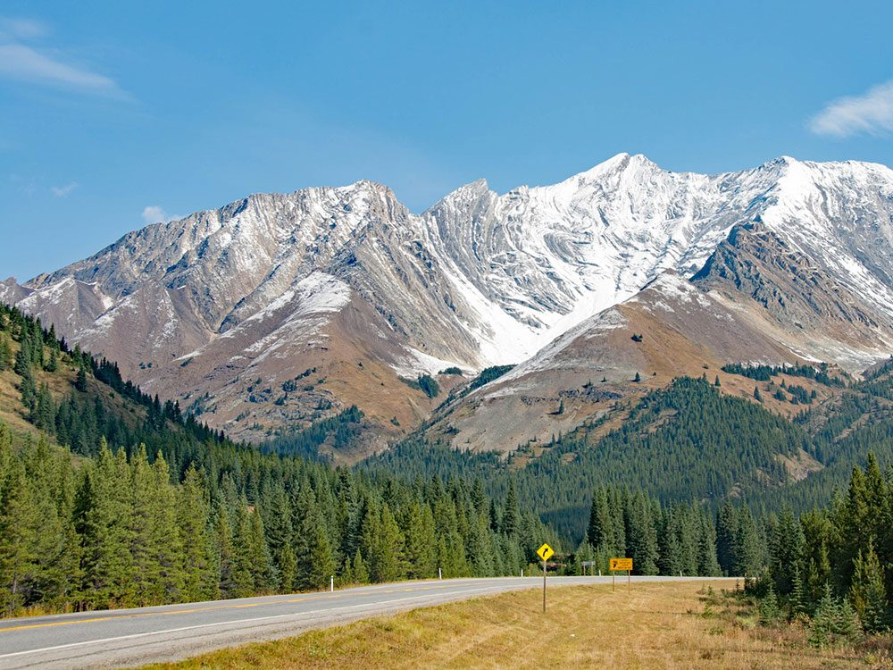 Highwood Pass road trip