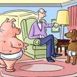20+ Funny Dog Cartoons to Make Every Owner Chuckle