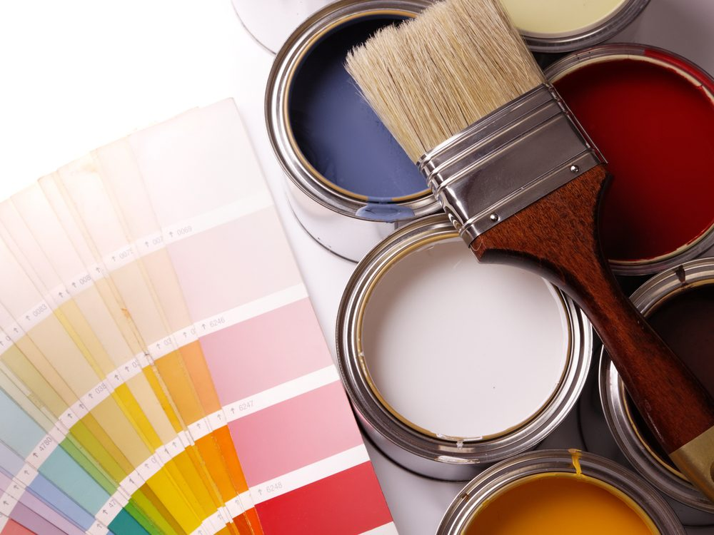 Types of paint brushes