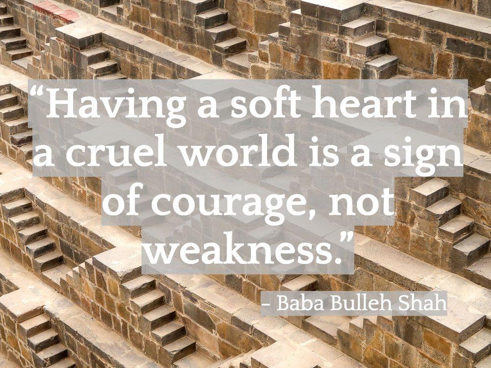 Inspiring Indian quotes - Baba Bulleh Shah