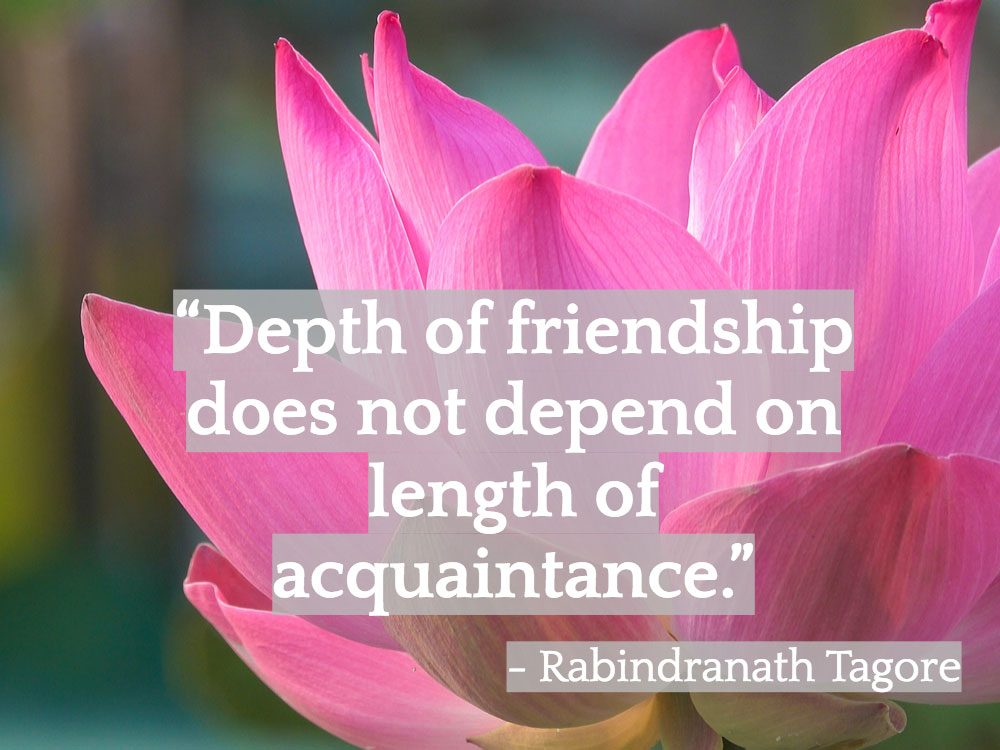 Inspiring Indian quotes about friendship