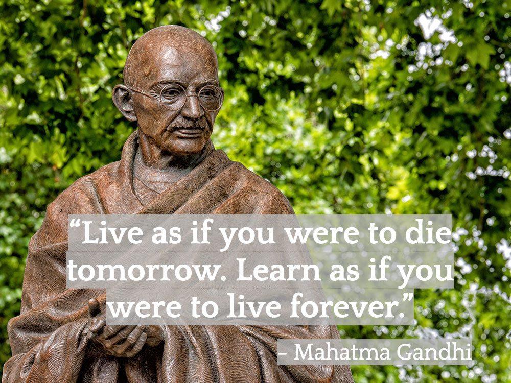 Inspiring Indian quotes - Ghandi