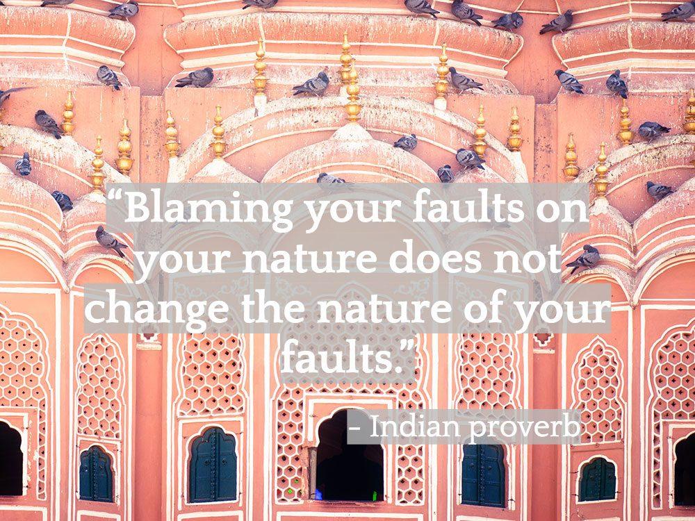Inspiring Indian quotes - Hawa Mahal