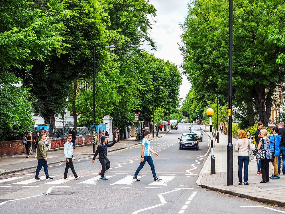London attractions - Abbey Road