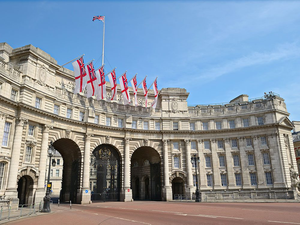 London attractions - Admiralty Arch