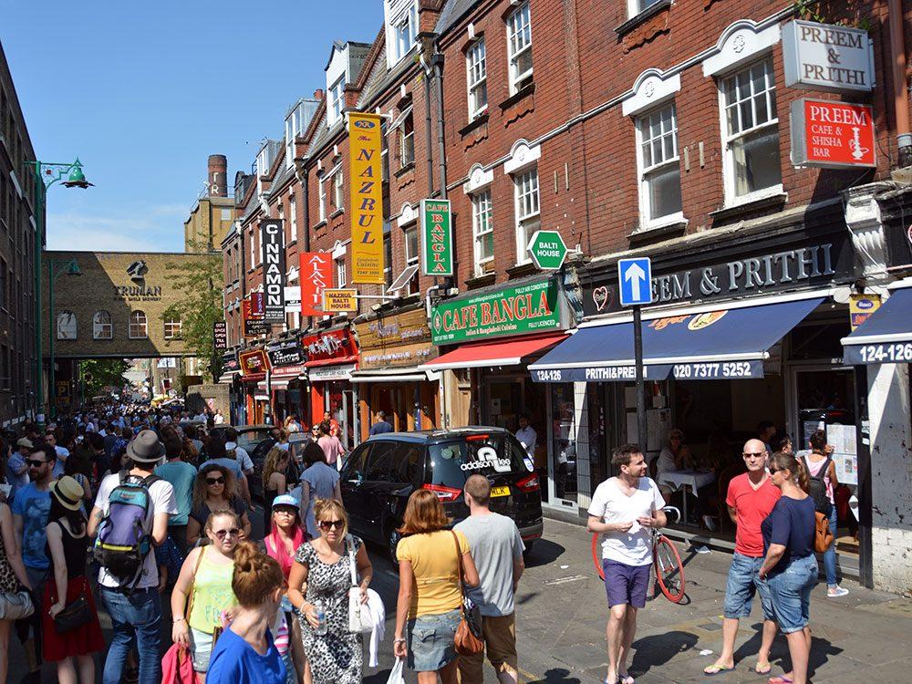 London attractions - Brick Lane