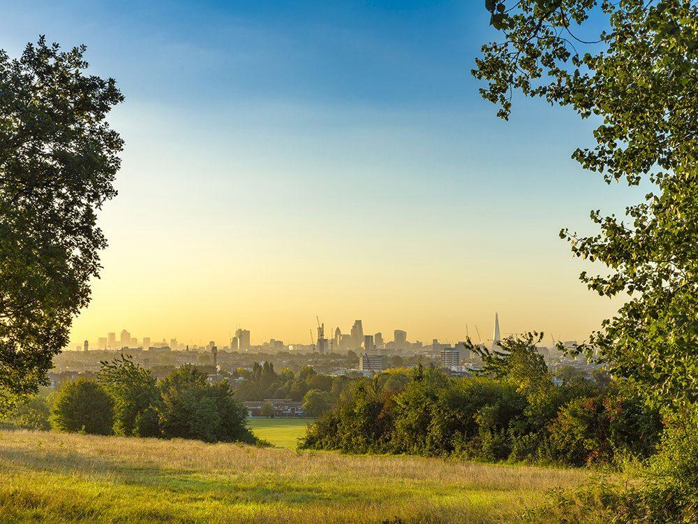 London attractions - Hampstead Heath