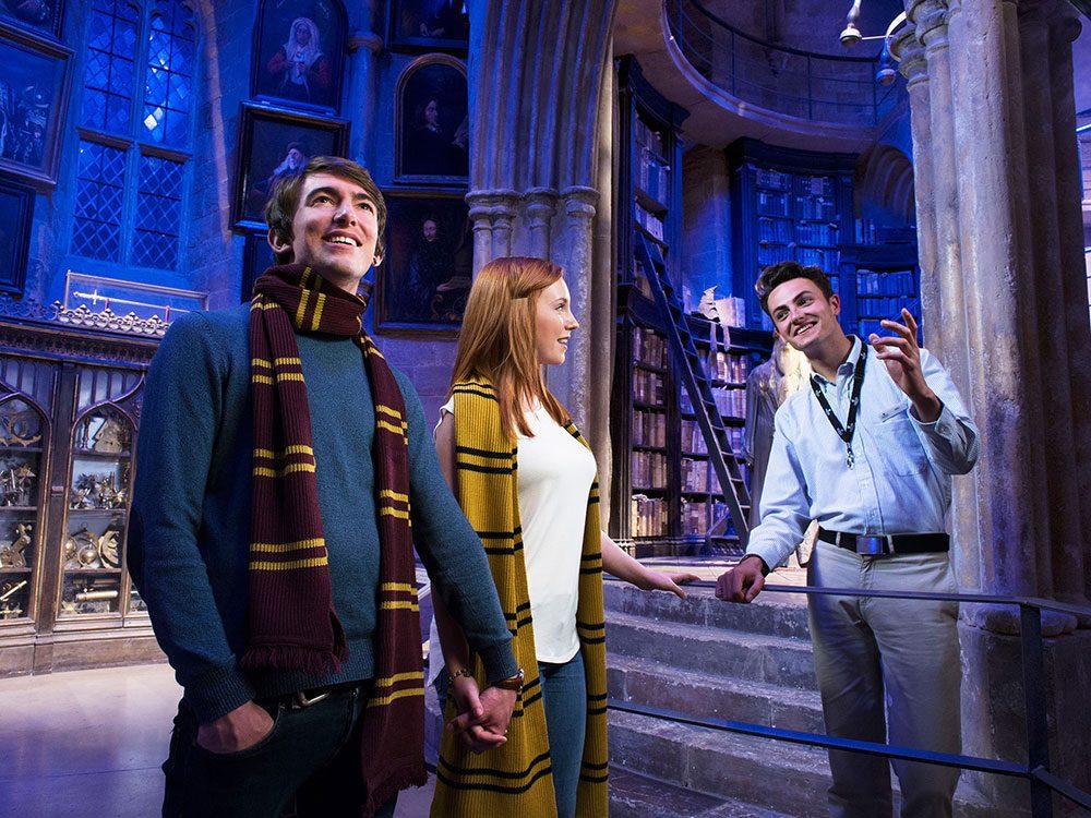 London attractions - Harry Pottery Studio Tour