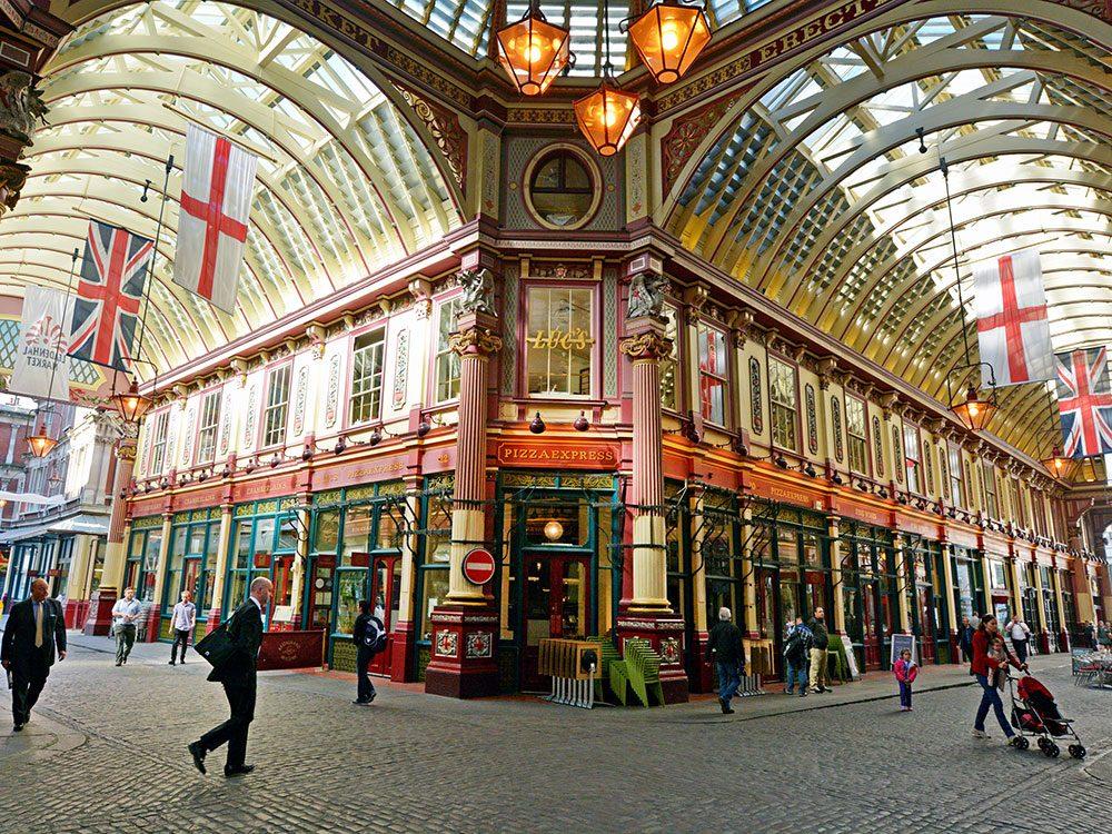 London attractions - Leadenhall Market