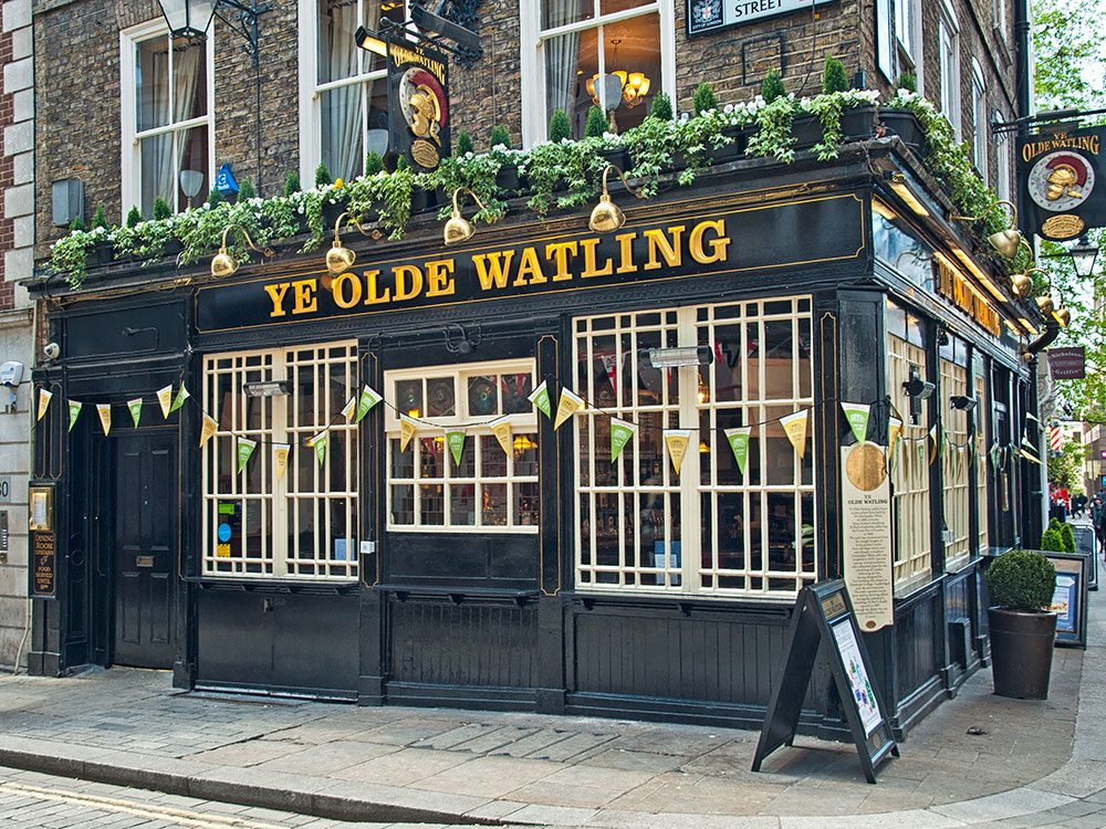 London attractions - London pubs