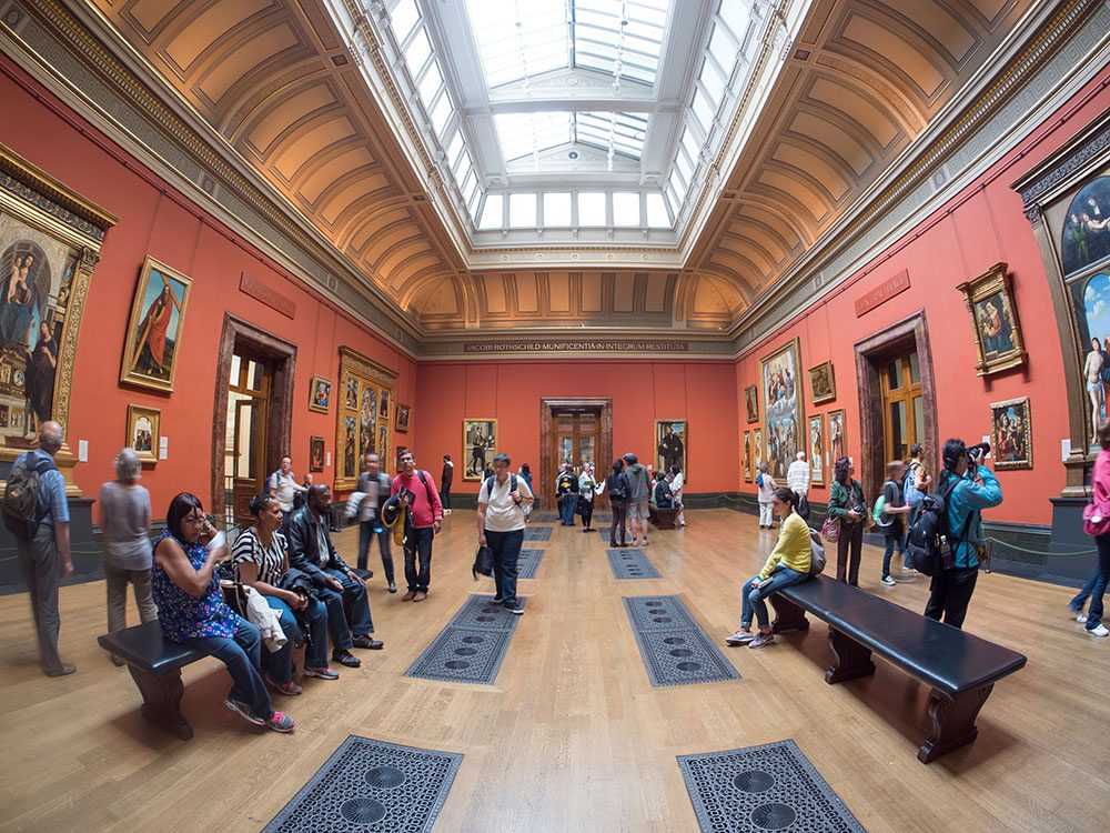 London attractions - National Gallery